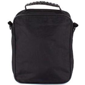Сумка мужская текстиль Арлион-39А,    1отд,    плечевой ремень,    3внеш карм,    черный