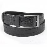 Ремень 35 мм BLACK TORTOISE взрослый 4000141 п/крок,    черный
