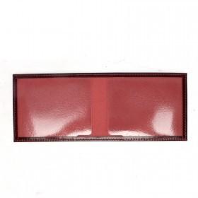 Обложка Premier-О-11   (студенческий билет)    натуральная кожа красный темный гладкий   (138)