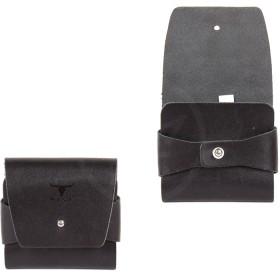 Портмоне мужское Premier-М-57 натуральная кожа 1 отд,    1 карм,    черный шора   (48)