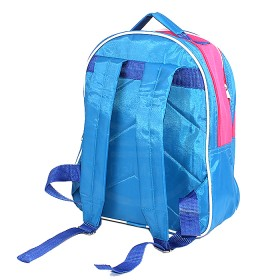 """Рюкзак Rinax-""""  Степка"""" ,    уплотн спинка,    2отд,    2внеш карм,   """"  Мишка"""" ,    голубой/розовый"""