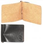 Зажим для купюр натуральная кожа «Kansas»-Z.7.TXF.черный
