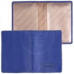 Обложка для паспорта натуральная кожа «Ultra»-O.82.FP.,    синий