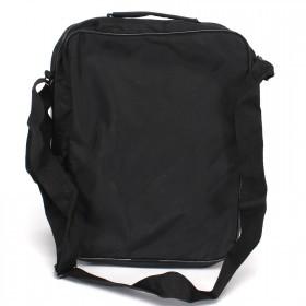 Сумка мужская текстиль Арлион-114ж,    3отд,    плечевой ремень,    1внеш карм,    черный