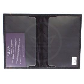 Обложка для паспорта натуральная кожа «Brooklyn»-O.88.BR,    черный