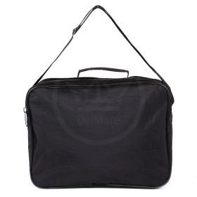 Сумка мужская текстиль Дизайн-Оксфорд    (жатка) ,    3отд,    плечевой ремень,    1внеш карм,    черный
