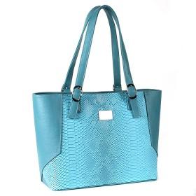 Сумка женская искусственная кожа ZLT-1436;    1отд+карм/пер,    лазурь+голуб питон SALE