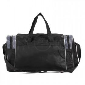 Сумка Sarabella-SG 002 дорож,    1отд,    3внеш карм,    плеч ремень,    черный/серый