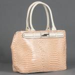 Сумка женская искусственная кожа ZEL-7461,    1отд+карм/пер,    бежевый SALE