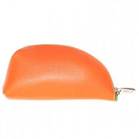 Ключница натуральная кожа «Ultra»-KL.39.FP.,    мандариновый