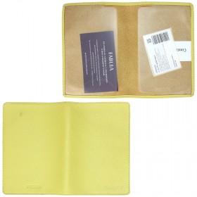 """Обложка для паспорта натуральная кожа """"  Every day""""   О.53.FP.салатовый"""
