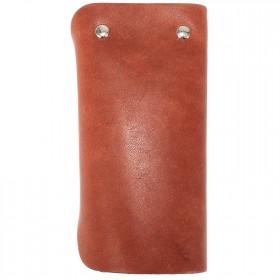 Футляр для ключей Premier-К-122   (на 6 ключей)    натуральная кожа коричневый шора   (52)