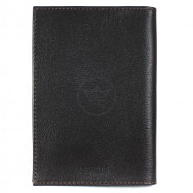 """Обложка для паспорта натуральная кожа """"  Largo""""   O.1.LG.коричневый"""