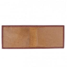Обложка для пенсионного удостоверения PRT-У-54   (горизонт)    натуральная кожа коричневый орфей
