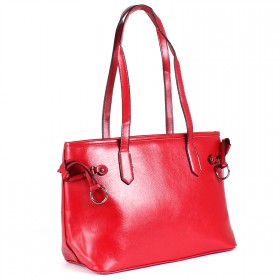 Сумка женская искусственная кожа ZEL-7644,    1отд+карм/перег,    красный