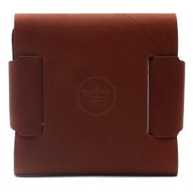 Портмоне мужское Premier-М-57 натуральная кожа 1 отд,    1 карм,    коричневый шора   (52)