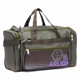 Сумка дорожная Арлион-6,    1отд,    3внеш карм,    плечевой ремень,    зеленый    (Arlion)