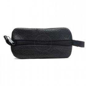 Футляр для ключей-FNX-КЛВ-104 натуральная кожа черный буфало   (4333)