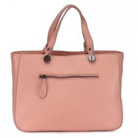 Сумка женская натуральная кожа RM-3251,    1отд+карм/пер,    плечевой ремень,    розовый