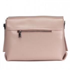 Сумка женская натуральная кожа RM-H-3447,    2отдел,    плечевой ремень,    розовый