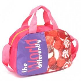 Сумка молодежная SilverTop-3280 Галактика,    1отд,    плечевой ремень,    розовый/фиолетовый,    сладости